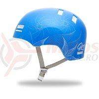 Casca Giro Section albastra