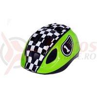 Casca HEADGY Race verde/alb/negru