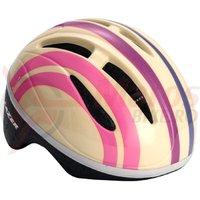 Casca Lazer Bob pink stripes