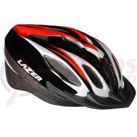 Casca Lazer Compact sport black/red