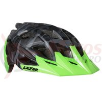 Casca Lazer Ultrax+ matte black camo flash green