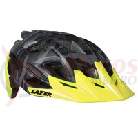Casca Lazer Ultrax+ matte black camo flash yellow