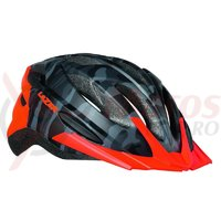 Casca Lazer Vandal matte black camo flash orange