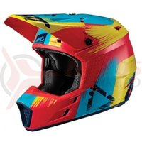 Casca Leatt Helmet GPX 3.5 V19.1 red/lime dot + ece