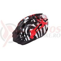 Casca Limar 515 Black Red 50-56cm
