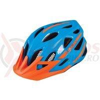 Casca Limar 545 albastru portocaliu