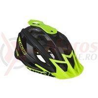 Casca Limar 888CL Matt negru verde C