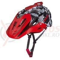 Casca Limar 949DR Matt Camo negru rosu C