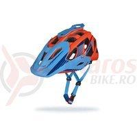Casca Limar 949DR Matt Camo portocaliu albastru