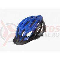 Casca Limar Scrambler albastru/negru