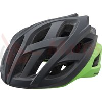 Casca Merida Road Race negru/verde