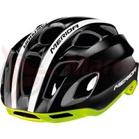 Casca Merida Team Race Glossy black/green