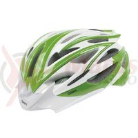 Casca Mighty Fast Road verde/alb M 55-58 cm