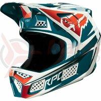 Casca Rampage Pro Carbon Helmet Beast [M Blu]