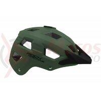 Casca Rock Machine Trail negru/verde inchis