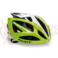 Casca Rudy Project Airstorm lime fluo/alb 54-58 cm