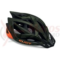 Casca Rudy Project Airstorm MTB olive green/orange camo