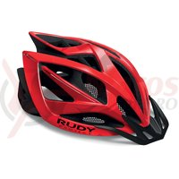 Casca Rudy Project Airstorm MTB red/black camo