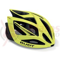 Casca Rudy Project Airstorm Road yellow fluo