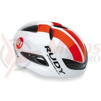 Casca Rudy Project Boost 01 alb/rosu fluo 54-58 cm