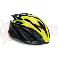 Casca Rudy Project Racemaster yellow fluo/black