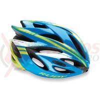 Casca Rudy Project Rush azur/lime fluo 54-58 cm