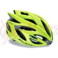 Casca Rudy Project Rush galben fluo M 54-58 cm