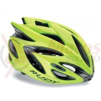 Casca Rudy Project Rush galben fluo S 51-55 cm