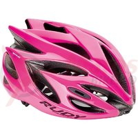 Casca Rudy Project Rush roz fluo M 54-58 cm