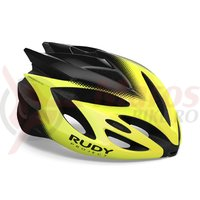Casca Rudy Project Rush yellow fluo/black