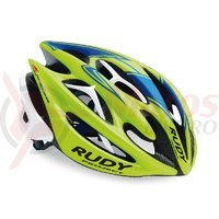 Casca Rudy Project Sterling lime fluo/albastru 54-58 cm