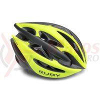 Casca Rudy Project Sterling Plus yellow fluo/black