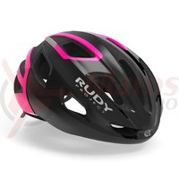 Casca Rudy Project Strym black/pink fluo