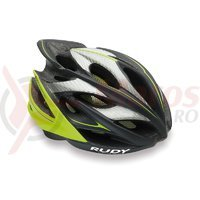 Casca Rudy Project Windmax graphite/lime fluo 59-61 cm