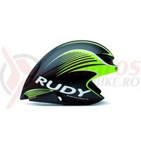 Casca Rudy Project Wing57 negru/lime fluo 59-61 cm+ lentile smoke