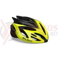 Casca Rush Yellow Fluo/Black