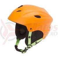 Casca Ski/Snowboard Ventura orange mat 52-55 cm