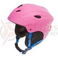 Casca Ski/Snowboard Ventura roz mat 52-55 cm