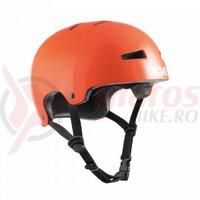 Casca TSG Evolution Youth Solid Color - Gloss Orange