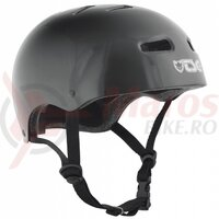 Casca TSG Skate/Bmx Injected Color - Injected Black