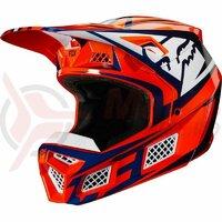 Casca V3 Idol Helmet, Ece [Org/Blu]