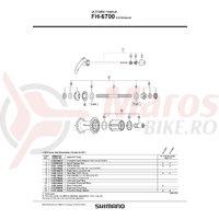 Caseta Shimano FH-6700