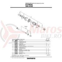 Caseta Shimano FH-M640