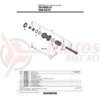 Caseta Shimano FH-M9010