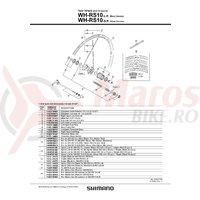Caseta Shimano WH-RS10-R