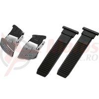 Catarama + Chinga Shimano pentru pantofi Ciclicm SH-M230L  Negru & Agrintiu/Negru