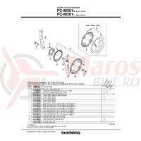 Chain guard Shimano FC-M361 48T