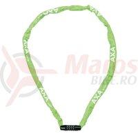 Lacat Axa Rigid RCC 120, lungime 120cm,3,5x3,5 green