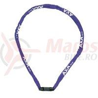 Lacat Axa Rigid RCC 120, lungime 120cm, 3,5x3,5 violet