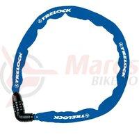 Lacat Trelock Kombi 110cm, 4mm BC 115/110/4, albastru